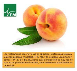 Beneficios del Melocoton - Formula Medica