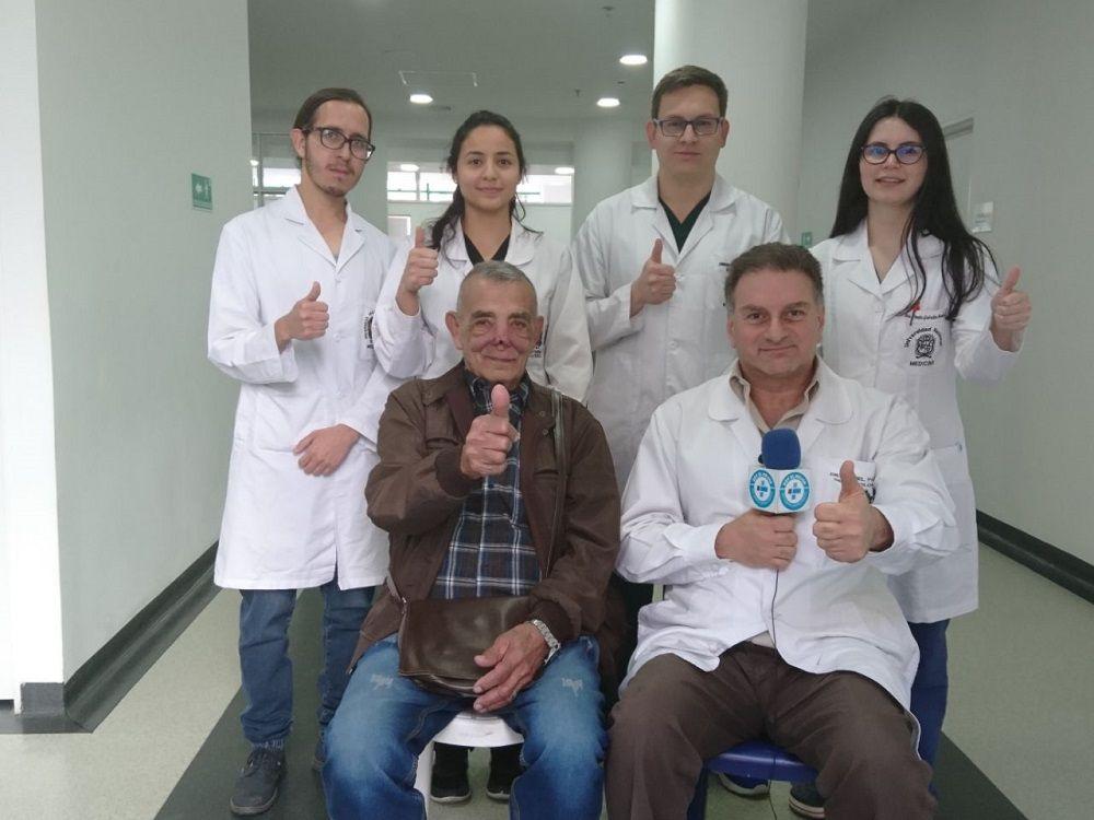 Paciente con leishmaniasis cutanea - Formula Medica