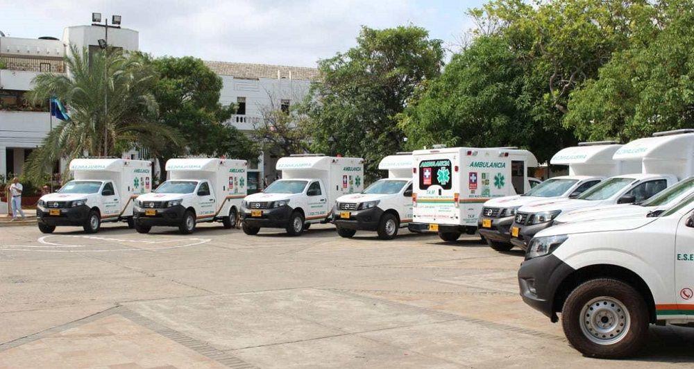 Ambulancias para la Guajira - Formula Medica