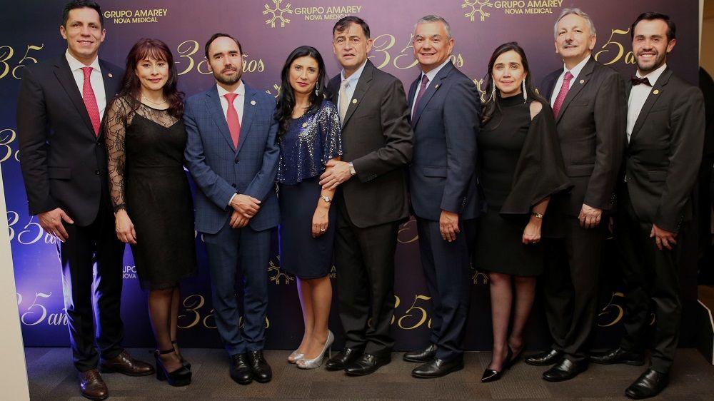 35 Años grupo Amarey Nova Medical - Formula Medica