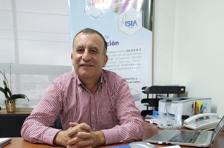 Leonildo Torres Gerente de ISLA S.A.S Empresa de Suministros Hospitalarios - Fórmula Médica
