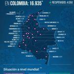 16.935 personas en Colombia tienen COVID-19 - Fórmula Médica