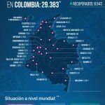 29.383 personas en Colombia tienen COVID-19 – Fórmula Médica