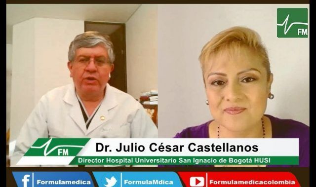 La panorámica de la pandemia - Dr. Julio Cesar Castellanos - Férmula Médica