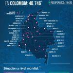 48.746 personas en Colombia tienen COVID-19 - Fórmula Médica
