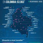 53.063 personas en Colombia tienen COVID-19 - Fórmula Médica