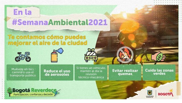 Semana ambiental distrital - Fórmula Médica